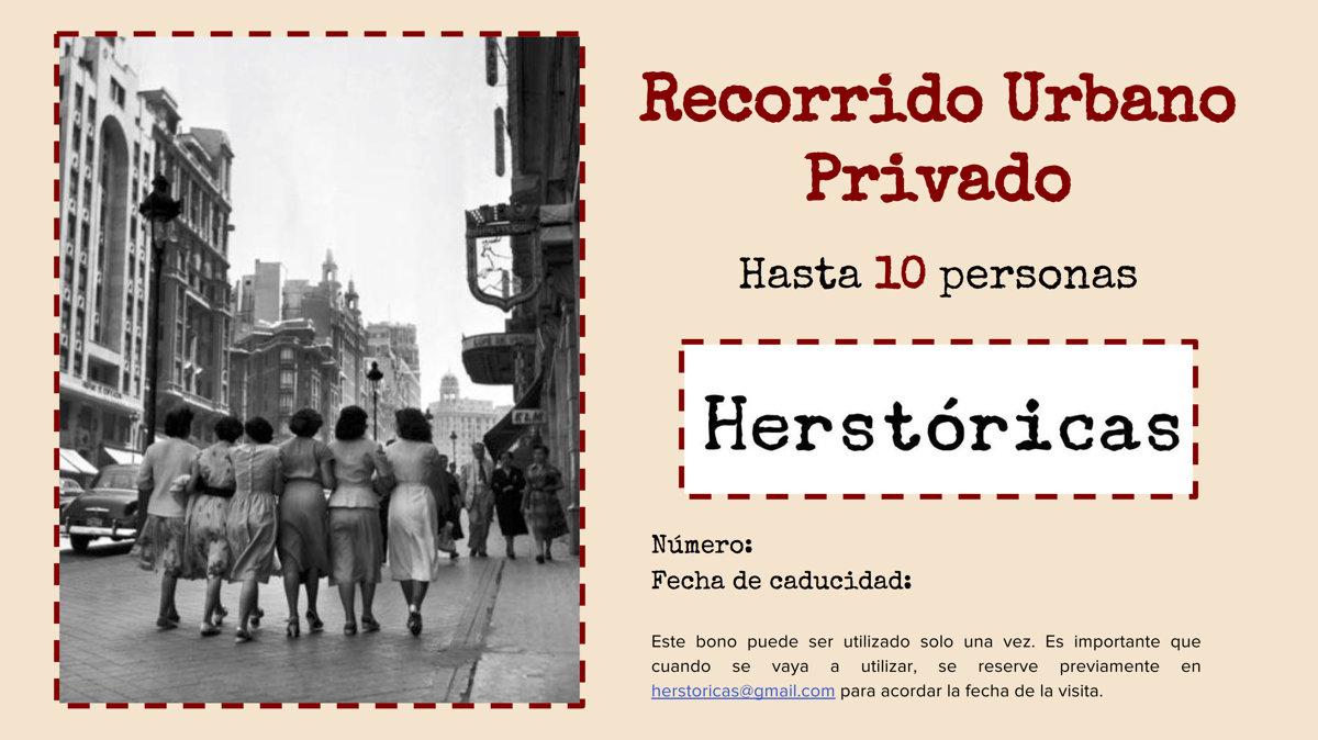 Recorrido urbano privado