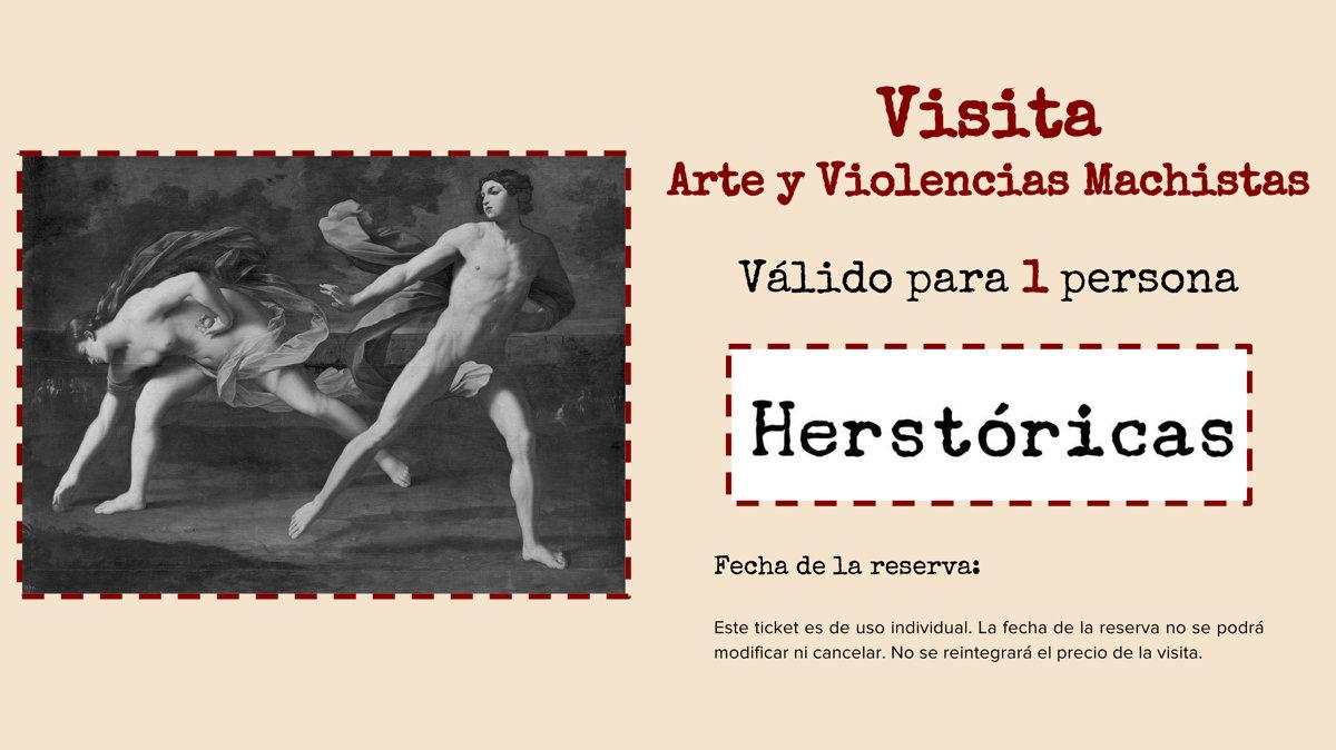 """Visita """"Arte y Violencias Machistas"""" - 20/04/2018"""