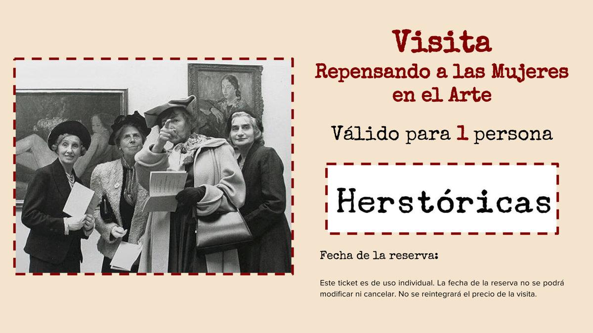 """Visita """"Repensando a las Mujeres en el Arte"""" - 27/04/2018"""